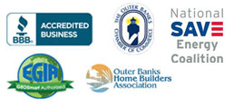 BBB - Chamber of Commerece - EGIA - Outer Banks Home Builders Association